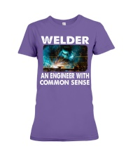 Weld tee Premium Fit Ladies Tee thumbnail