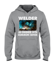 Weld tee Hooded Sweatshirt thumbnail