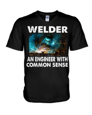 Weld tee V-Neck T-Shirt tile