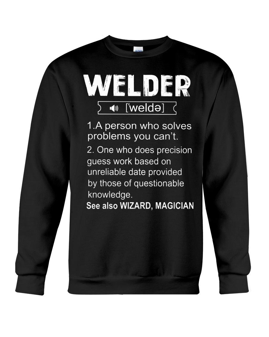 Welder Tshirt Crewneck Sweatshirt