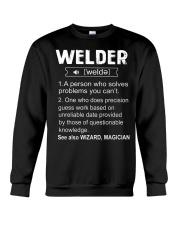 Welder Tshirt Crewneck Sweatshirt front