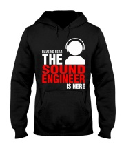 The Sound Engineer Hooded Sweatshirt front