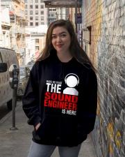 The Sound Engineer Hooded Sweatshirt lifestyle-unisex-hoodie-front-1