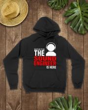 The Sound Engineer Hooded Sweatshirt lifestyle-unisex-hoodie-front-7