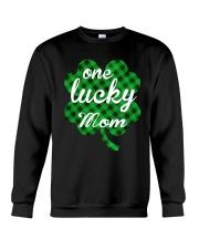 One lucky mom Crewneck Sweatshirt thumbnail