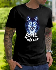 Wolf tee Classic T-Shirt lifestyle-mens-crewneck-front-7