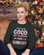 Sound Guy Crewneck Sweatshirt lifestyle-holiday-sweater-front-2