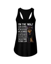 The Wolf Tee Ladies Flowy Tank thumbnail