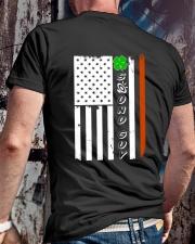 Sound Guy Irish Classic T-Shirt lifestyle-mens-crewneck-back-2