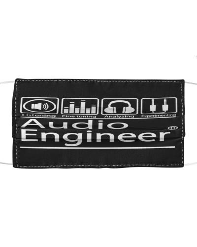 Audio Engineer Cloth Mask