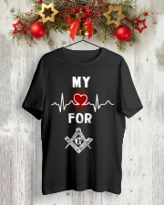My Heart Beats For G Tee Premium Fit Mens Tee lifestyle-holiday-crewneck-front-2