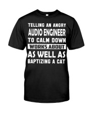 Audio Engineer tee Classic T-Shirt front