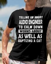 Audio Engineer tee Classic T-Shirt lifestyle-mens-crewneck-front-11