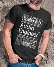 Audio Engineer Classic T-Shirt lifestyle-mens-crewneck-front-4
