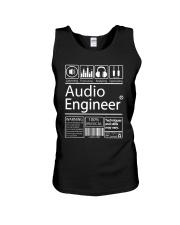 Audio Engineer Unisex Tank thumbnail