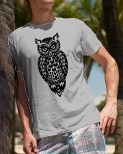 Owl Tee Classic T-Shirt lifestyle-mens-crewneck-front-10