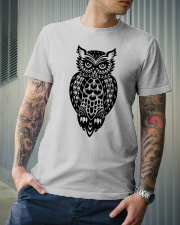 Owl Tee Classic T-Shirt lifestyle-mens-crewneck-front-6