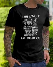 I am a wolf Classic T-Shirt lifestyle-mens-crewneck-front-7