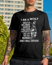 I am a wolf Classic T-Shirt lifestyle-mens-crewneck-front-8