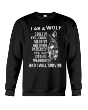 I am a wolf Crewneck Sweatshirt tile