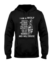 I am a wolf Hooded Sweatshirt thumbnail