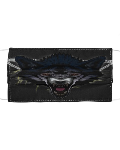 Face Wolf Cloth Mask