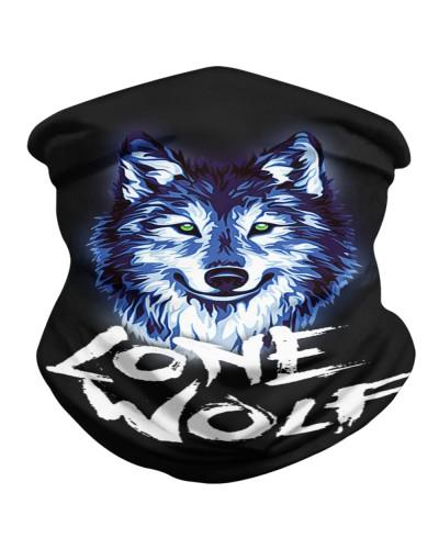 Lone Wolf  Neck Gaiter