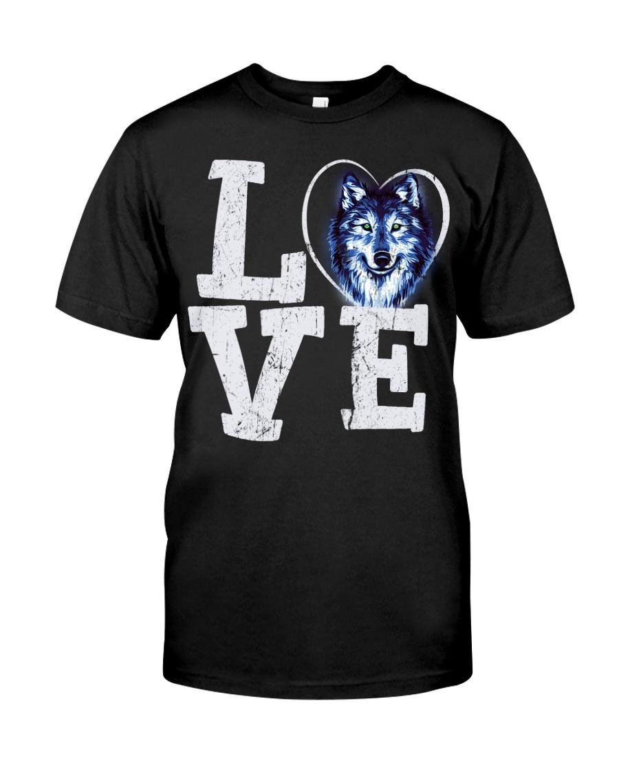 Love Wolf Classic T-Shirt