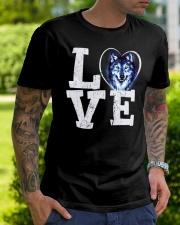 Love Wolf Classic T-Shirt lifestyle-mens-crewneck-front-7