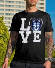 Love Wolf Classic T-Shirt lifestyle-mens-crewneck-front-8