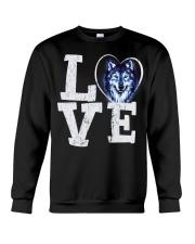 Love Wolf Crewneck Sweatshirt thumbnail