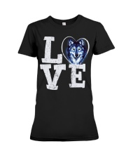 Love Wolf Premium Fit Ladies Tee thumbnail