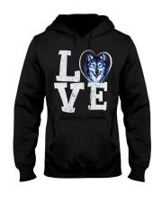 Love Wolf Hooded Sweatshirt thumbnail