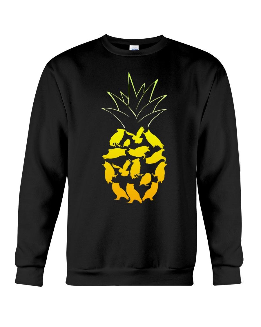 PINEAPPLE OWL T-Shirt Crewneck Sweatshirt