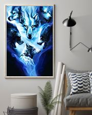 Awesome Wolf Poster 24x36 Poster lifestyle-poster-1