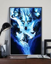 Awesome Wolf Poster 24x36 Poster lifestyle-poster-2