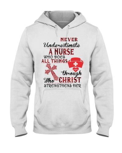 Never Underestimate A Nurse Tshirt