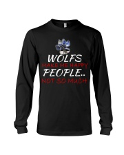 Wolfs make me happy Long Sleeve Tee thumbnail