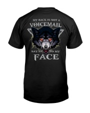 Wolf face tee Classic T-Shirt thumbnail