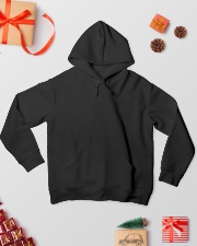 Wolf face tee Hooded Sweatshirt lifestyle-holiday-hoodie-front-2
