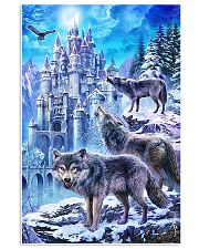 Three Wolf Poster 24x36 Poster front