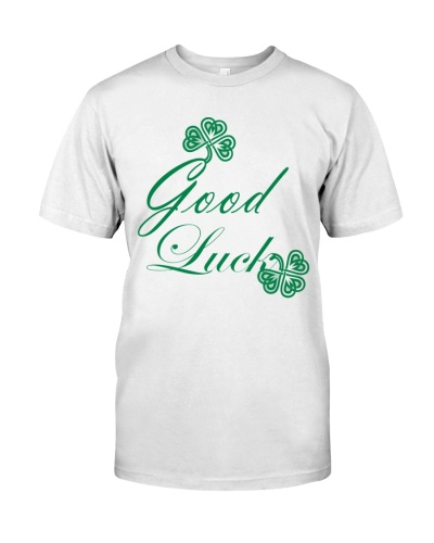 Good luck tee irish tee