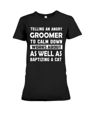 Groomer Tee Premium Fit Ladies Tee tile