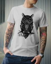 Owl  Classic T-Shirt lifestyle-mens-crewneck-front-6