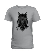 Owl  Ladies T-Shirt thumbnail