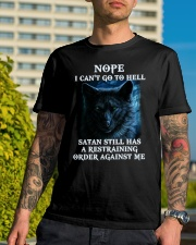 Wolf tee Classic T-Shirt lifestyle-mens-crewneck-front-8
