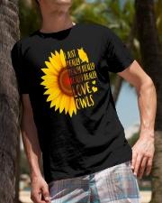 Owl Tee Classic T-Shirt lifestyle-mens-crewneck-front-10