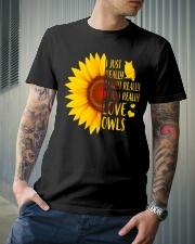 Owl Tee Classic T-Shirt lifestyle-mens-crewneck-front-6