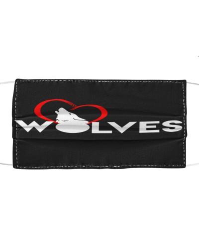 WolVES  Cloth Mask