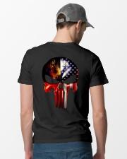 Welder tee Classic T-Shirt lifestyle-mens-crewneck-back-6